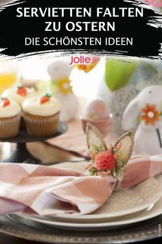 Die schönsten Ideen mit Anleitung Pudding, Desserts, Food, Folding Napkins, Easter Activities, Food Food, Tutorials, Ideas, Nice Asses