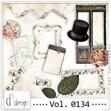 Vol. 0134 - Vintage Mix  by Doudou's Design  #CUdigitals cudigitals.com cu commercial digital scrap #digiscrap scrapbook graphics