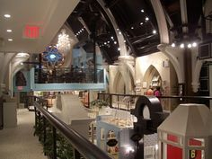 The Limelight Marketplace in NYC