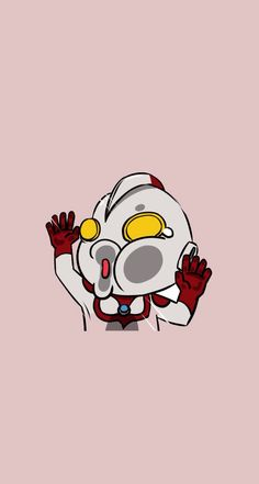 Just slapped a cute Ultraman on your screen - @mobile9