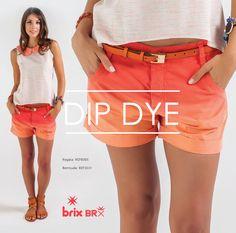 O Dip Dye é trend e já virou febre. Essa inusitada tendência que veio lá dos hippies caiu nas graças das fashionistas e desde então está dominando as ruas pelo mundo.