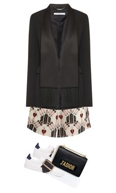 """""""Senza titolo #2616"""" by vladifashion ❤ liked on Polyvore featuring Valentino and Givenchy"""