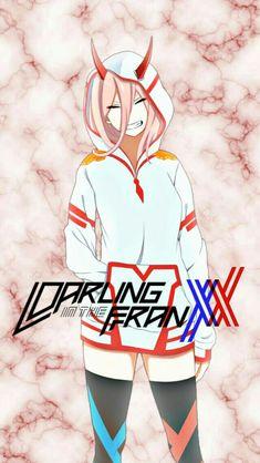 002/darling in the franxx Anime Lock Screen, Zero Two, Best Waifu, Darling In The Franxx, Best Action Anime, Manga Illustration, Beautiful Anime Girl, Best Animes Ever, Good Anime Series