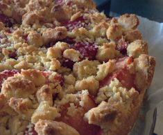 Recipe Streusel Cake with Custard and Plums by Smartkitchen - Recipe of category Baking - sweet use gf flour Thermomix Desserts, Gluten Free Desserts, Gluten Free Recipes, Healthy Recipes, Streusel Cake, Vanilla Paste, Cake Tins, Recipe Collection, Custard