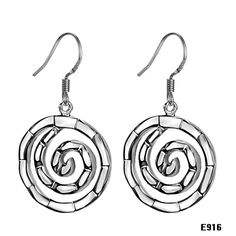 Silver jewelry silver fashion circle women's earrings stud earring @YE916