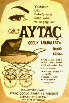 OĞUZ TOPOĞLU : aytaç çocuk arabası 1966 nostaljik eski reklamlar