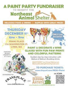 Northeast Animal Shelter Paint Party Fundraiser! Tickets, Lynn   Eventbrite