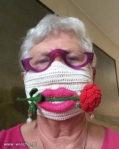 Funny Face Mask, Face Masks, Ugly Faces, Crochet Faces, Too Faced, Fashion Mask, Mask Design, Being Ugly, Funny Pictures