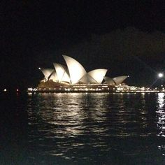 Evening form Sydney.  Dark inky skies and a cool breeze.  It's nice to be back even though we're missing Hayman!