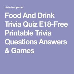 watching trivia food dance printable games nobody quotes drink questions answers got quiz never ve hurt multiple choice question culture