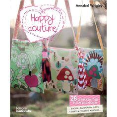 Livre Happy Couture http://www.boutiquemarieclaire.com/catalogue/loisir-creatif/couture/livre-happy-couture.html