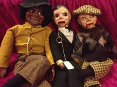 Vintage puppets by strangehumanity on Etsy, $165.00
