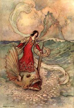 """Warwick Goble, """"Stories From the Pentamerone"""", 1911."""
