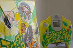 "Custom Art: Custom DREAMCAST ""JET SET RADIO"""