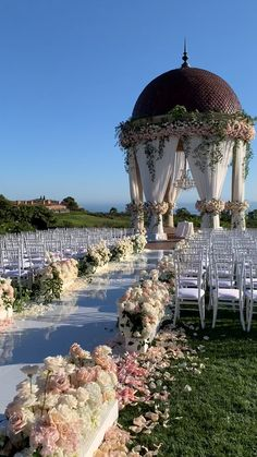 A romantic, outdoor ceremony at Pelican HIll in Newport Beach, California by Marcy Blum wedding ceremony Pink and White Wedding at Pelican Hill Elegant Wedding, Perfect Wedding, Dream Wedding, Wedding White, Romantic Weddings, Yacht Wedding, Outdoor Weddings, Garden Wedding, Wedding Outdoor Ceremony