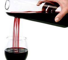 rain man decanter - Serve wine with the new 'Rain Man Decanter' at your next family gathering and I guarantee you that it will attract a lot of attention. This carafe . Microondas Panasonic, Inspektor Gadget, Wine Carafe, Wine Pourer, Best Wine Decanter, In Vino Veritas, Wine Time, Cool Gadgets, Newest Gadgets