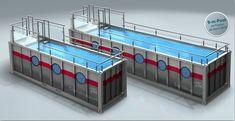 แบบสระว่ายน้ำ จากตู้คอนเทนเนอร์