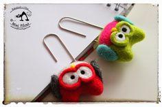 Owl - needele felting minifilcus.blogspot.com