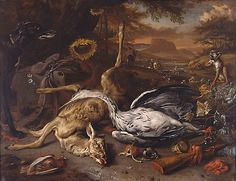 Jan Weenix, Dutch, 1642?-1719   oil on canvas   Ackland Fund