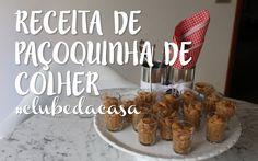 RECEITA DE PAÇOQUINHA DE COLHER | #CLUBEDACASA FLÁVIA FERRARI