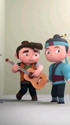 Funny Cartoon Gifs, Funny Minion Videos, Cute Cartoon Pictures, Cute Love Cartoons, Cute Cartoon Wallpapers, Funny Animal Videos, Funny Cartoons, Funny Pictures, Cute Jokes