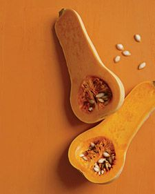Butternut Squash is a cancer fighting food packed with vitamin A and C and full of beta carotene and antioxidants and promotes healthy lung development in babies