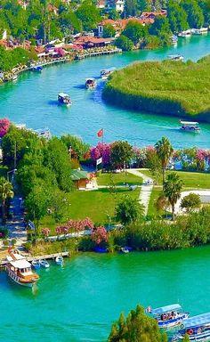 Dalyan,Muğla, Turkey.
