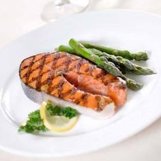 Stock Up on Salmon - Salmon is an Omega-3 powerhouse full of protein and healthy fats. Salmon is great for burning fat, but also, the Omega-3s in it will help to make your ‎metabolism more efficient, slowing digestion and preventing cravings.