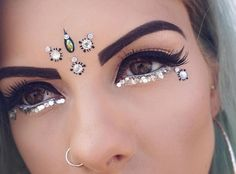 Going To Coachella Festival Try This Beautiful 55 Makeup Ideas 18