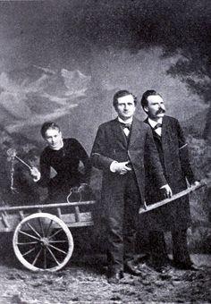 Salomé, Rée, Nietzsche na słynnej fotografii z roku 1882, wykonanej w Lucernie w atelier Julesa Bonneta
