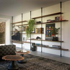 Modern Wall Bookcase Design And Decor Ideas Modern Bookcase, Modern Shelving, Modular Bookshelves, Bookcases, Home Office Design, Interior Design Living Room, Bibliotheque Design, Bookshelves In Bedroom, Muebles Living
