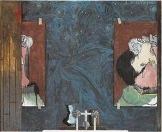 Jasper Johns, Untitled, 1988 (bathtub)