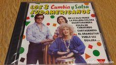 LOS 3 SUDAMERICANOS / CUMBIA Y SALSA / CD / DIVUCSA - 1990 / 14 TEMAS / PRECINTADO.