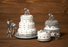 Charming Miniature Winter Cake Snowflake for Your by DinkyWorld