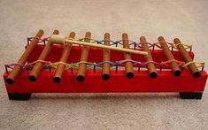 Pipe Glockenspiel How to make a copper pipe glockenspiel. Would be a great homemade toy gift.How to make a copper pipe glockenspiel. Would be a great homemade toy gift. Instrument Craft, Projects For Kids, Diy Projects, Homemade Musical Instruments, Music Instruments, Make Your Own, Make It Yourself, Music Crafts, Homemade Toys