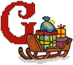 Advanced Embroidery Designs - G is for Gifts