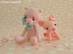 Amigurumi Pink Puppy IV by El Reino Encantado, via Flickr