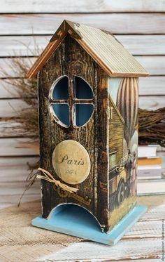 Купить чайный домик ПОДАРОК ПУТЕШЕСТВЕННИКУ - коричневый, домик, домик для чая, чайный домик