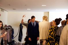 New York Fashion Week: Backstage at Hyden Yoo Fall 2012 by the Fader