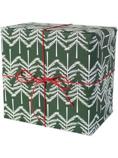 Christmas tree wrapping paper #2 by Ava & Yves