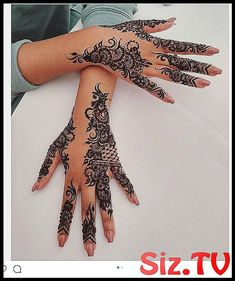 Mehndi design is one of the most authentic arts for girls. The ladies who want to decorate their hands with the best mehndi designs. Henna Hand Designs, Eid Mehndi Designs, Pretty Henna Designs, Mehndi Designs Finger, Arabic Henna Designs, Modern Mehndi Designs, Mehndi Designs For Fingers, Mehndi Design Photos, Mehndi Patterns