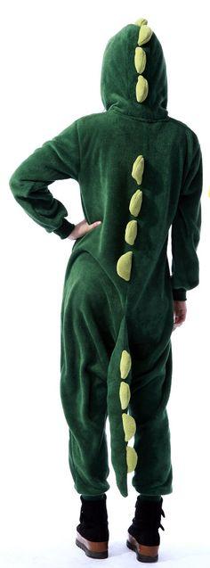 Animal Costume Dinosaur Adult Onesie Kigurumi Pajamas. NOT KIDDING PLEASE BUY ME THIS