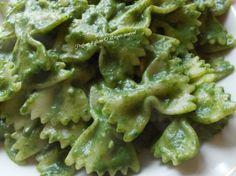 Pasta in crema di #spinaci - #ricetta primi piatti semplici
