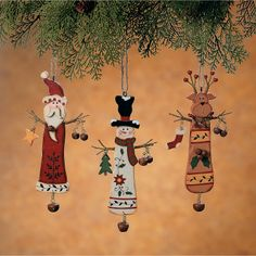 Christmas Character Ornaments - OrientalTrading.com