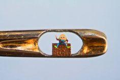 Willard Wigan Can Create Sculptures In The Eyes Of Needles.