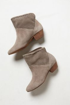 Paige booties - so cute with chambray.