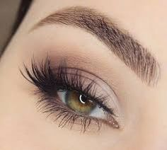 Image result for dramatic look with false lashes