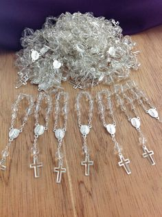 50 pcs First communion favors Recuerditos Bautizo by AVAandCOMPANY