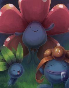 Pokemon grass oddis evolutions gloom - vilepum