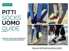 Socks Trends at Pitti Uomo 87 2015 #pittiuomo87 #pittiuomo #pitti #pitti87 #pittiuomo2015 #fashion #trends #menswear #style #socks #colors #colorfulsocks